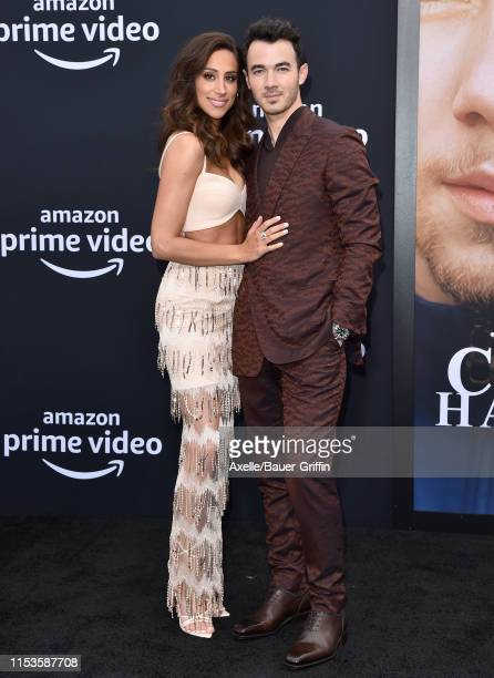 Danielle Jonas and Kevin Jonas attend the premiere of Amazon Prime Video's Chasing Happiness at Regency Bruin Theatre on June 03 2019 in Los Angeles...
