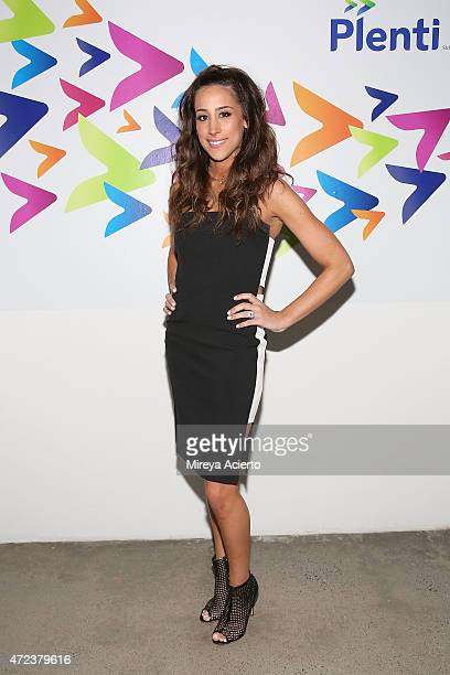 Danielle Jonas attends the Launch of Plenti at Skylight Modern on May 6 2015 in New York City