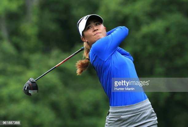 Danielle Kang during the third and final round of the Kingsmill Championship presented by Geico on the River Course at Kingsmill Resort on May 20...