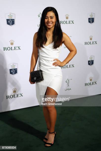 Danielle Kang of the United States arrives at the LPGA Rolex Players Awards at The RitzCarlton Golf Resort on November 16 2017 in Naples Florida