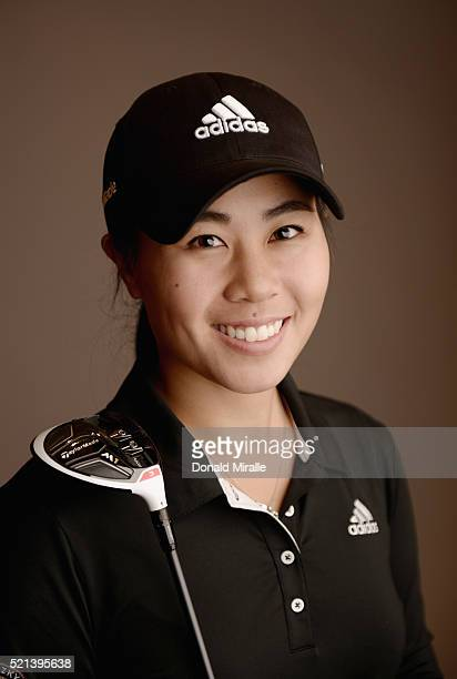 Danielle Kang of the United States poses for a portrait during the KIA Classic at the Park Hyatt Aviara Resort on March 23 2016 in Carlsbad California