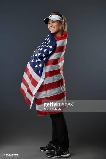 Danielle Kang poses for a portrait at the Park Hyatt Aviara Resort on March 27 2019 in Carlsbad California