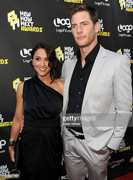 Danielle Kirlin and Ryan McPartlin arrive at Logo's 3rd annual NewNowNext Awards held at The Edison on June 8 2010 in Los Angeles California