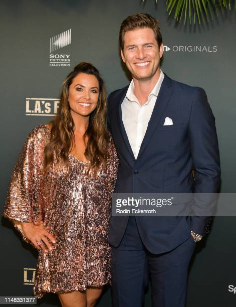 Danielle Kirlin and Ryan McPartlin attend the premiere of Spectrum's Originals LA's Finest on May 10 2019 in West Hollywood California