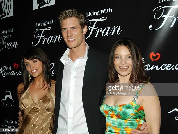 Danielle Kirlin husband Ryan McPartlin and Fran Drescher