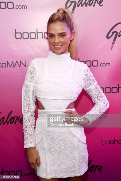 Danielle Knudson at the boohoocom LA Popup Store Launch Party with Galore Magazine on November 1 2017 in Los Angeles California