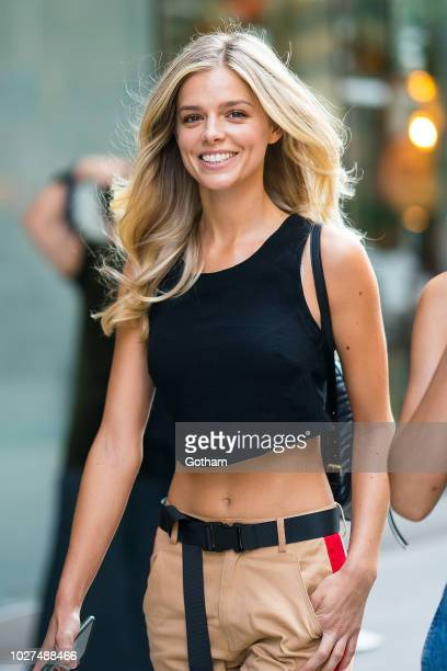 Danielle Knudson attends casting for the 2018 Victoria's Secret Fashion Show in Midtown on September 5 2018 in New York City
