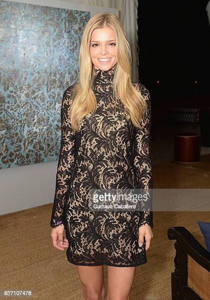 Danielle Knudson attends the Art Basel Fundraiser In Miami Beach With Sean Kelly And Paddle8 hosted by Absolut Elyx And Water For People at Nautilus...