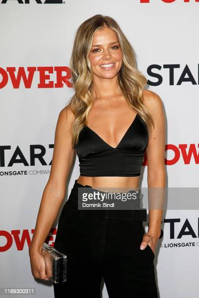 Danielle Knudson attends the Power final season world premiere at The Hulu Theater at Madison Square Garden on August 20 2019 in New York City