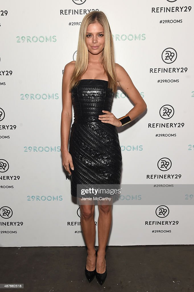 Refinery29 Presents 29Rooms, A Celebration Of Style And Culture During NYFW 2015 : News Photo