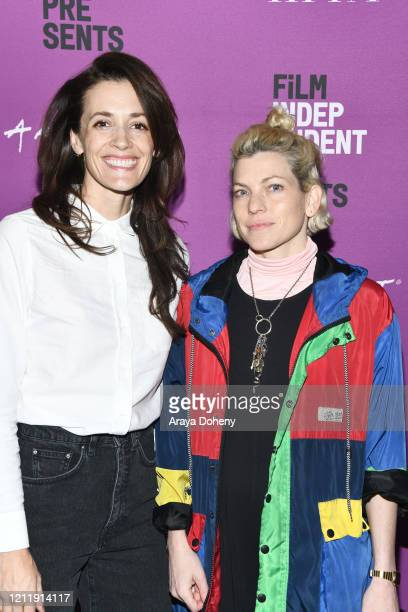 "Danielle Krudy and Bridget Savage Cole at Film Independent screening series presents ""Blow The Man Down"" at ArcLight Hollywood on March 11, 2020 in..."