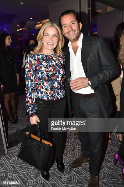 Danielle Lahey and Steven Stein attend NYU Langone's Playing for Pediatrics Winter Game Night at The Ziegfeld Ballroom on March 8 2018 in New York...