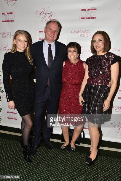 Danielle Lauder Achim Daub Linda Marshall and Elana Szyfer attend Symrise's Achim Daub ReVive's Elena Drell Szyfer honored at BEYOND BEAUTY Dinner...