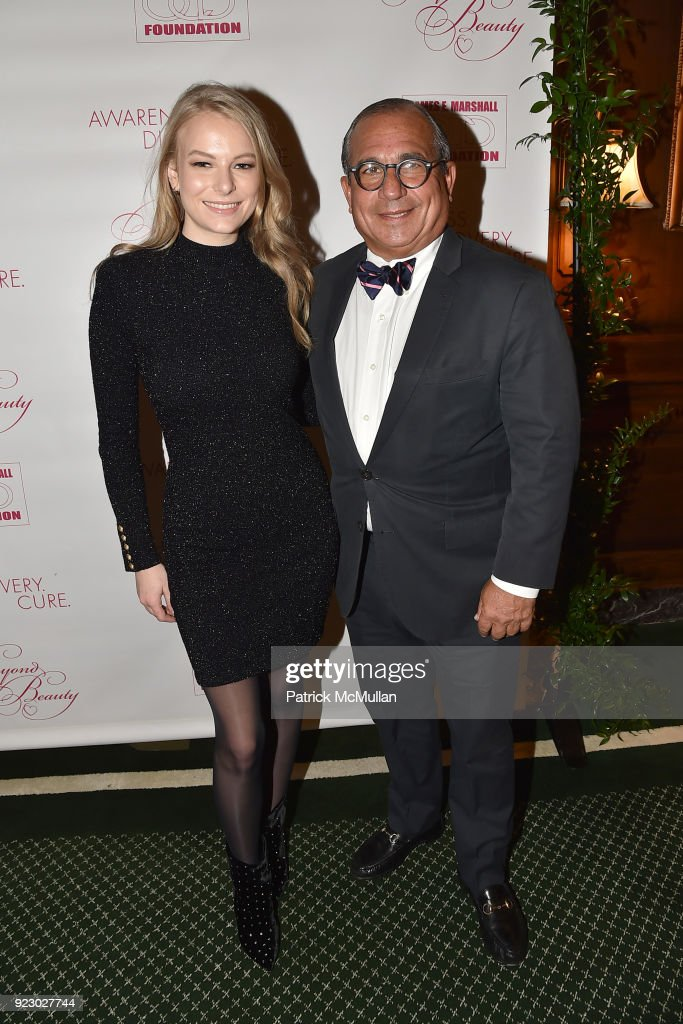 Symrise's Achim Daub & ReVive's Elena Drell Szyfer honored at BEYOND BEAUTY Dinner 2018; Special Speaker: Actor and Mental Health Advocate Danielle Lauder : News Photo