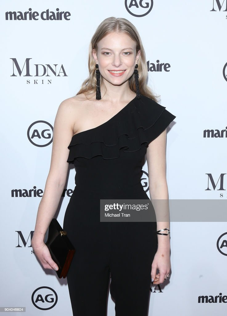 Danielle Lauder arrives to the Marie Claire's Image Maker Awards 2018 held at Delilah on January 11, 2018 in West Hollywood, California.