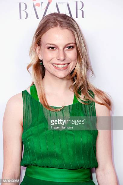 Danielle Lauder attends Harper's Bazaar Celebrates 150 Most Fashionable Women at Sunset Tower Hotel on January 27 2017 in West Hollywood California