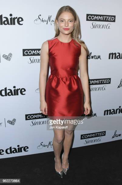 Danielle Lauder attends Marie Claire's 5th Annual 'Fresh Faces' at Poppy on April 27 2018 in Los Angeles California