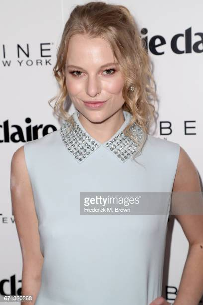 Danielle Lauder attends Marie Claire's 'Fresh Faces' celebration with an event sponsored by Maybelline at Doheny Room on April 21 2017 in West...