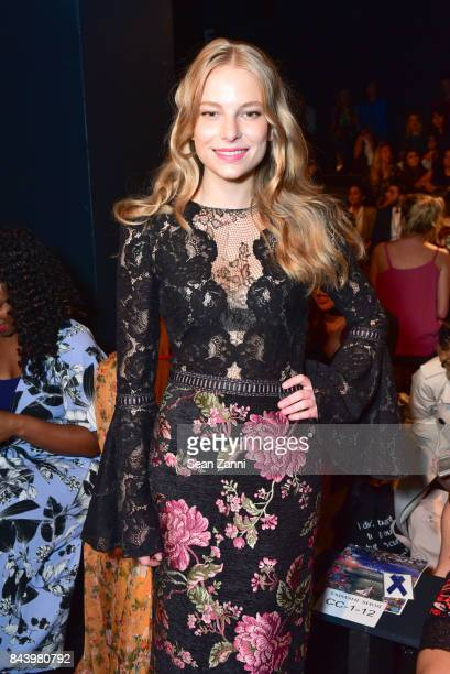 Danielle Lauder attends Tadashi Shoji show at New York Fashion Week at Gallery 1 Skylight Clarkson Sq on September 7 2017 in New York City