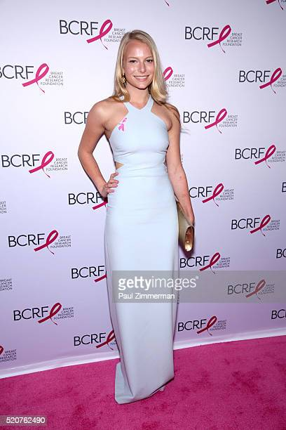 Danielle Lauder attends the 2016 Breast Cancer Research Foundation Hot Pink Party at The Waldorf=Astoria on April 12 2016 in New York City