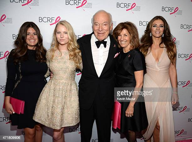 Danielle Lauder Leonard Lauder Judy Glickman Lauder and Elizabeth Hurley attend Breast Cancer Research Foundation's Hot Pink Party The Pink Standard...