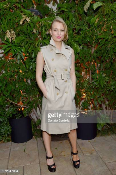 Danielle Lauder wearing Max Mara attends the Max Mara Celebration for Alexandra Shipp 2018 Women In Film Max Mara Face Of The Future Award Recipient...