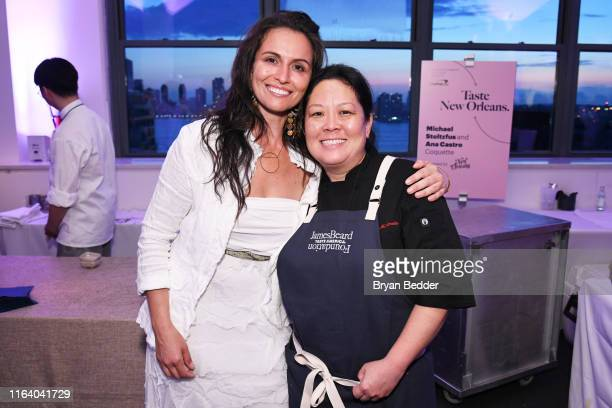 Danielle Leoni and Lori Hashimoto attend as The James Beard Foundation kicks off the 201920 Taste America presented by official banking and credit...