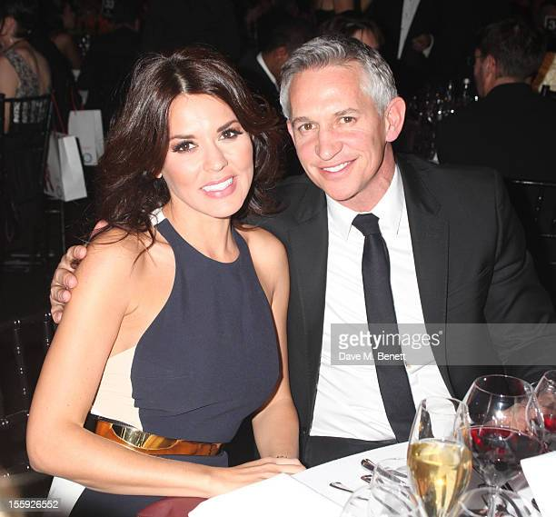 Danielle Lineker and Gary Lineker attend The Collars Coats Gala Ball 2012 at Battersea Evolution on November 8 2012 in London England