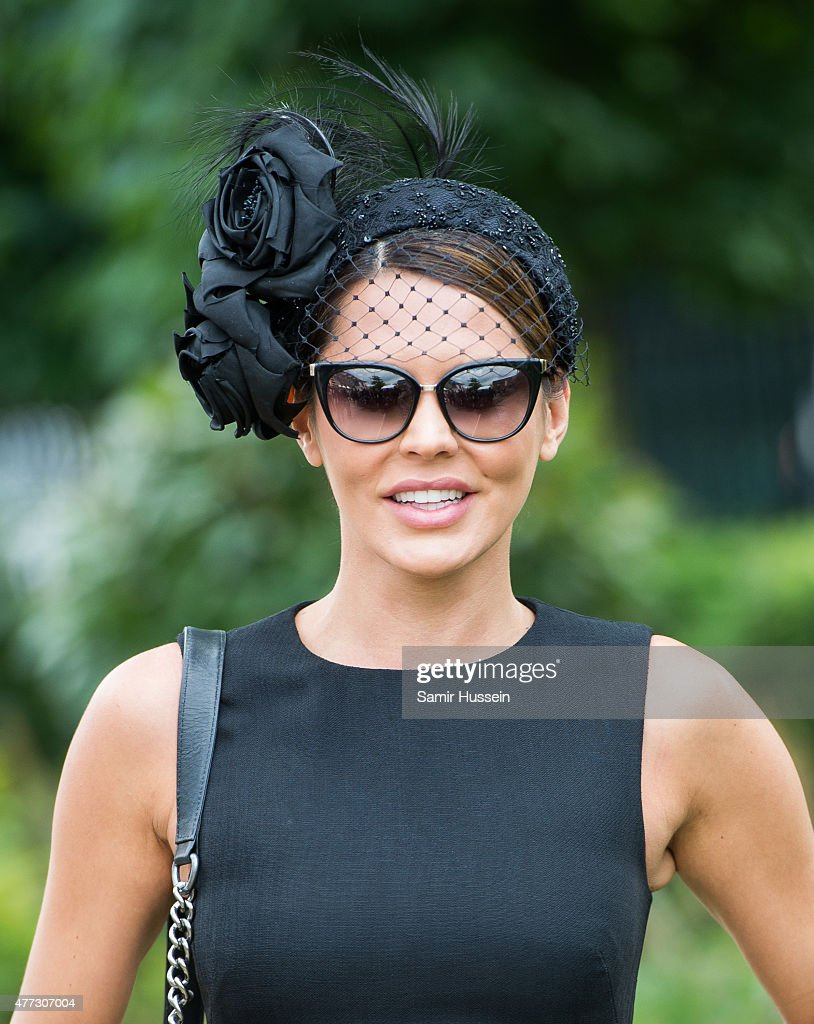 Danielle Lineker attends day 1 of Royal Ascot at Ascot Racecourse on June 16, 2015 in Ascot, England.
