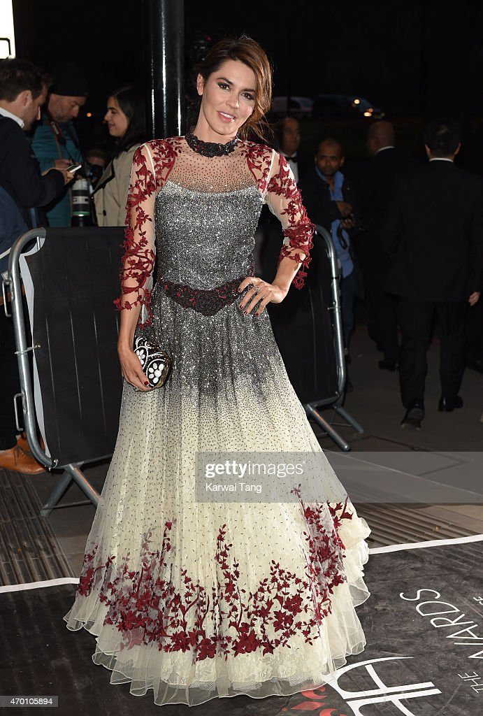Danielle Lineker attends The Asian Awards 2015 at The Grosvenor House Hotel on April 17, 2015 in London, England.