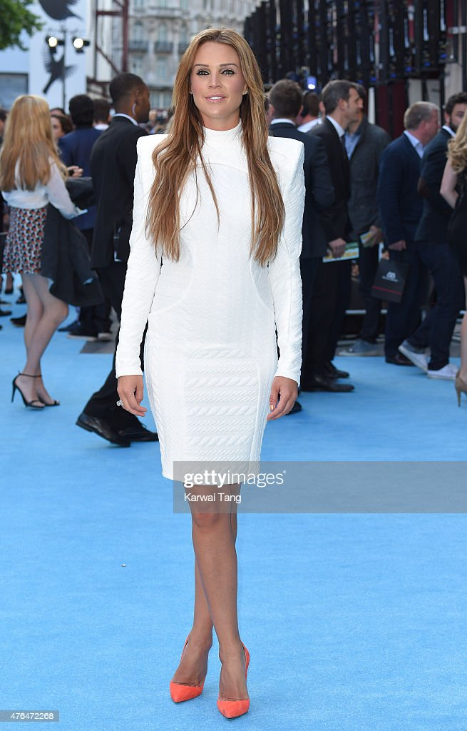 Danielle Lineker attends the European Premiere of 'Entourage' at Vue West End on June 9, 2015 in London, England.