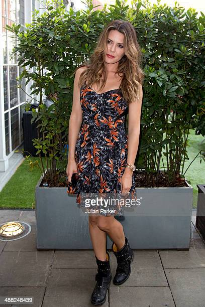Danielle Lineker attends The launch of the Bluebird Brunch at Bluebird on May 4 2014 in London England