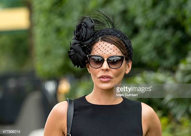 Danielle Lineker on day 1 of Royal Ascot at Ascot Racecourse on June 16, 2015 in Ascot, England.