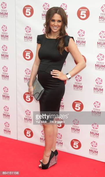 Danielle Lloyd arriving for the Tesco Mum of the Year Awards at The Savoy hotel in central London