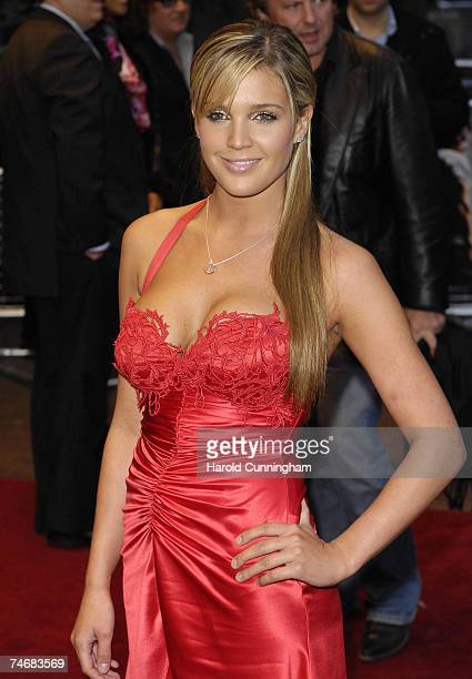 Danielle Lloyd at the Odeon West End in London United Kingdom