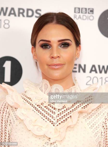 Danielle Lloyd attends the BBC Radio 1 Teen Awards on October 21 2018 in London United Kingdom