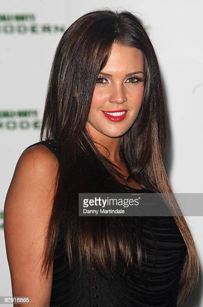 Danielle Lloyd attends the launch of Call of Duty Modern Warfare 2 on November 9 2009 in London England