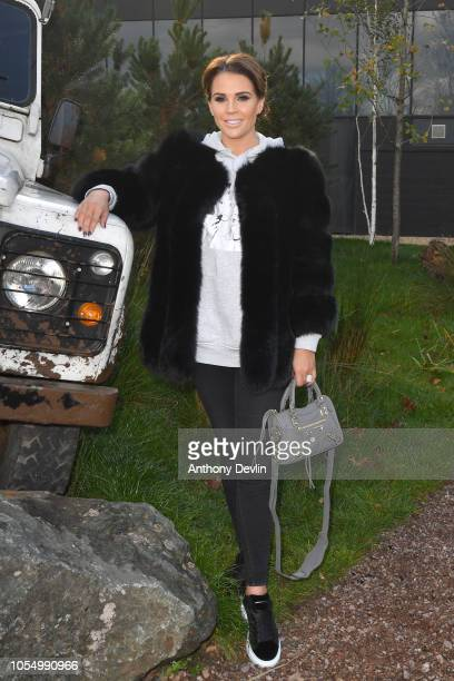 Danielle Lloyd attends the launch of the 'Global First Adventure Attraction' at Genting Arena on October 29 2018 in Birmingham England