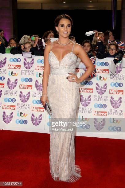 Danielle Lloyd attends the Pride of Britain Awards 2018 at The Grosvenor House Hotel on October 29 2018 in London England