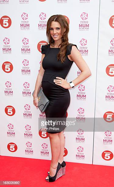 Danielle Lloyd attends the Tesco Mum of the Year awards at The Savoy Hotel on March 3 2013 in London England