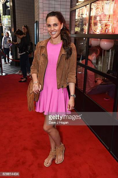 Danielle Lloyd attends the UK gala screening of Angry Birds at Picturehouse Central on May 7 2016 in London England