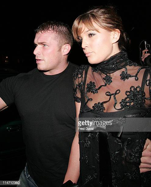 Danielle Lloyd during Celebrity Big Brother Wrap Party Outside Arrivals at Bloomsbury Ballroom in London Great Britain