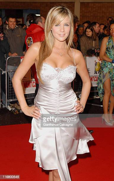 Danielle Lloyd during I Want Candy London Premiere Red Carpet at Vue West End in London Great Britain
