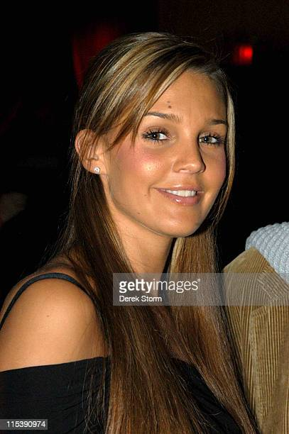 Danielle Lloyd Miss England 2005 during Steve Walter and May Pang Birthday Party October 23 2005 at The Cutting Room in New York City New York United...
