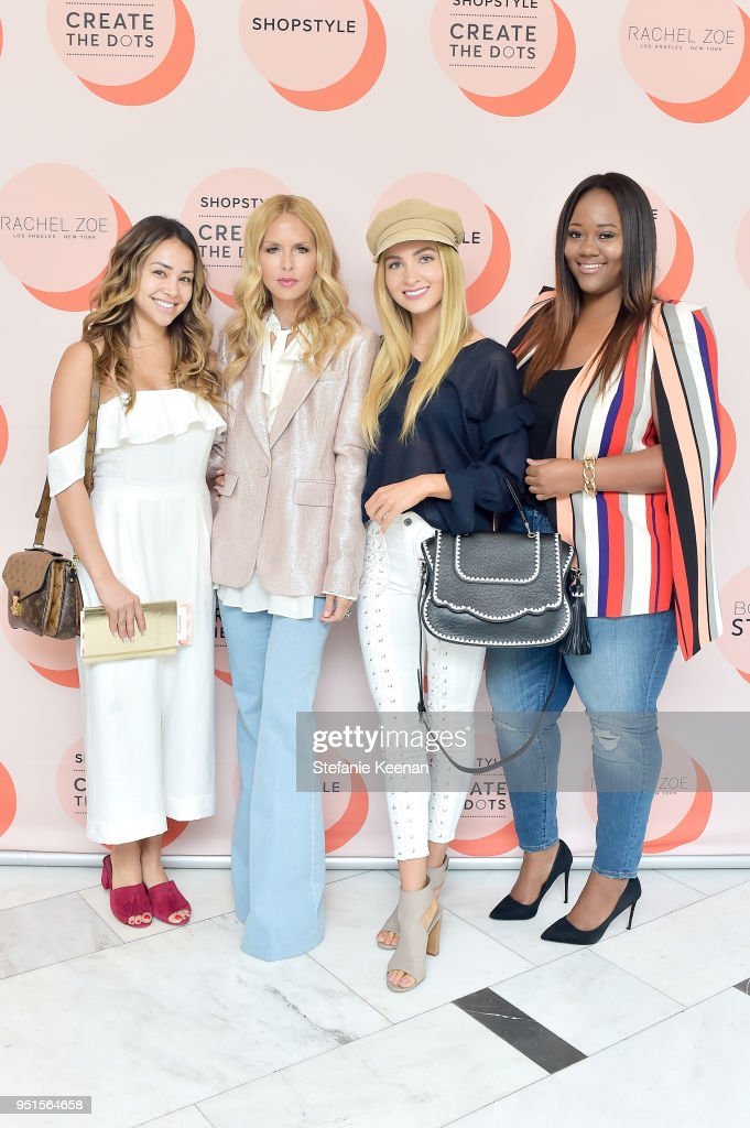 ShopStyle 'Create The Dots' Speaker Series Featuring Rachel Zoe