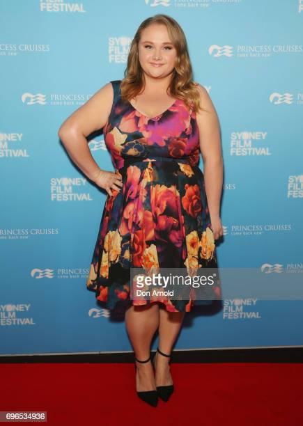 Danielle Macdonald arrives ahead of the Patti Cake$ Australian Premiere during the Sydney Film Festival at State Theatre on June 16 2017 in Sydney...
