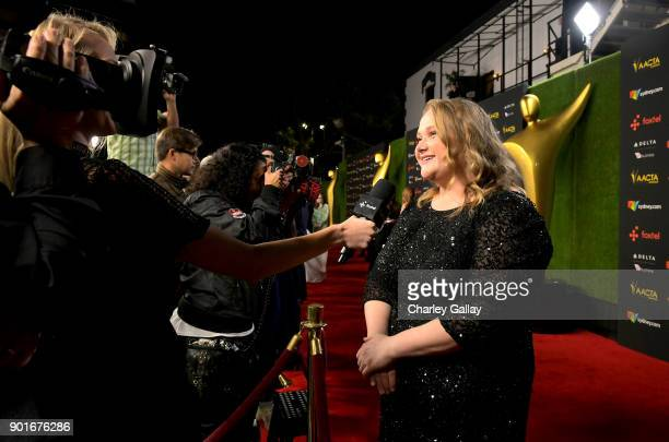 Danielle MacDonald attends the 7th AACTA International Awards at Avalon Hollywood in Los Angeles on January 5 2018 in Hollywood California