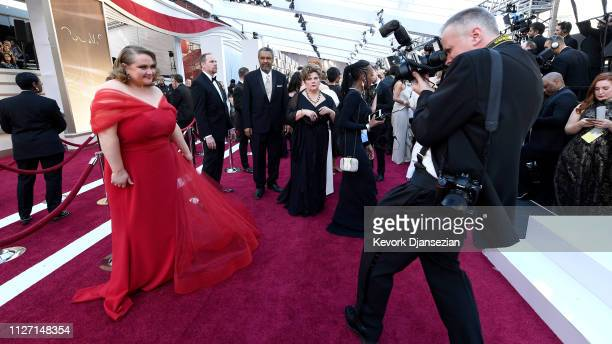 Retransmission with alternate crop Danielle Macdonald attends the 91st Annual Academy Awards at Hollywood and Highland on February 24 2019 in...