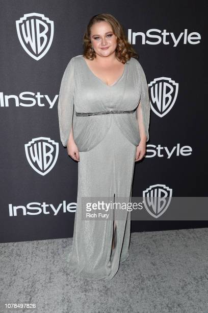 Danielle Macdonald attends the InStyle And Warner Bros. Golden Globes After Party 2019 at The Beverly Hilton Hotel on January 6, 2019 in Beverly...