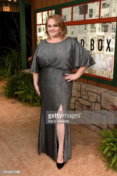 Danielle Macdonald attends the New York Special Screening Of The Netflix Film BIRD BOX at Alice Tully Hall on December 17 2018 in New York City